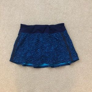 EUC💙 Lululemon Pace Rival Skirt
